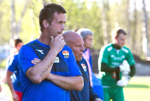 Ronny Deila, coach of Norwegian soccer team Stroemsgodset. Deila is reported to be one of the leading candidates to become the new manager of Scottish Premier League team's Celtic, according to various media reports. REUTERS/Jan-Morten Bjoernbakk/NTB Scanpix