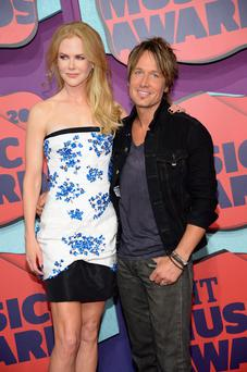Actress Nicole Kidman and Keith Urban attend the 2014 CMT Music awards at the Bridgestone Arena