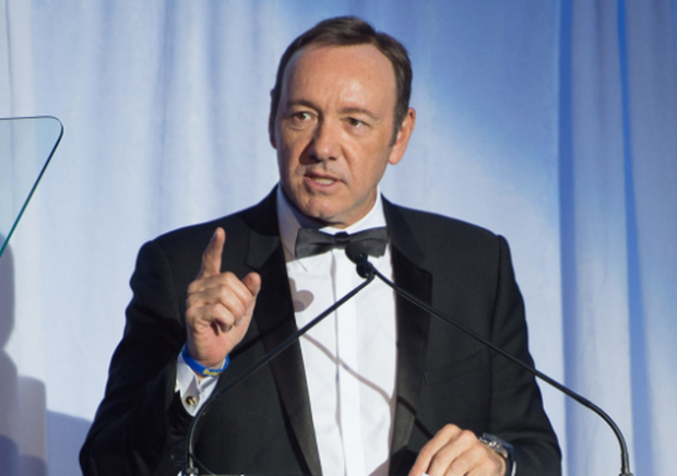 Kevin Spacey speaks at the Museum Of The Moving Image 28th Annual Salute Honoring Kevin Spacey on April 9, 2014 in New York City