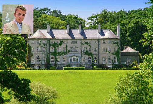 Irish entrepreneur Emmet O'Neill (inset) and Brehon Partners have acquired Mount Juliet