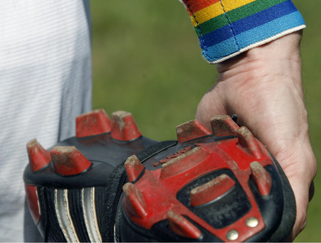 The footballer said that attitudes towards homosexuals in professional football was worsening