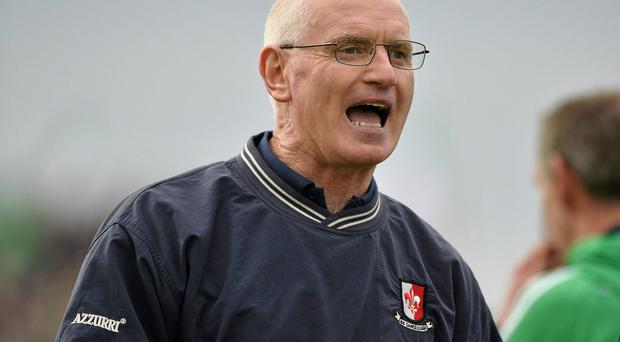 As Kildare manager, John Crofton suffered defeat to Louth in 2007. Photo: Barry Cregg / SPORTSFILE