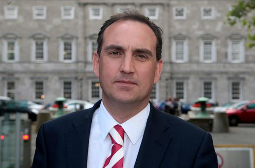 Fianna Fail Senator Marc MacSharry wrote to his committee colleagues on Friday raising concern at the whistle- blower's pay being suspended