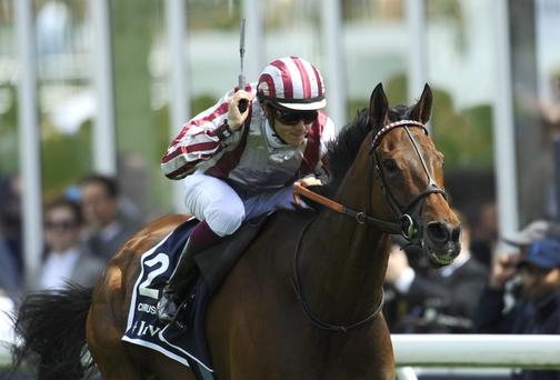 Christophe Soumillon riding Cirrus Des Aigles