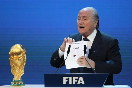It would not be unprecedented for Qatar to lose World Cup