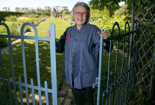 Darina Allen pictured in the gardens of Ballymaloe Cookery School, Cork. Picture: Arthur Ellis/Provision