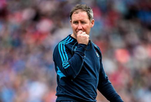Time is on Jim Gavin's side to rectify the flaws shown by his Dublin side yesterday. Photo: Brendan Moran / SPORTSFILE