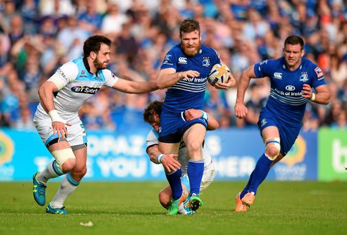 Leinster will find out tomorrow who they face in the group stage of the Champions Cup next season. Photo: Matt Browne / SPORTSFILE