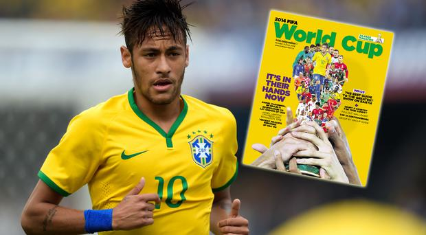 Brazil's hopes of glory at the World Cup rest with Neymar. Reuters