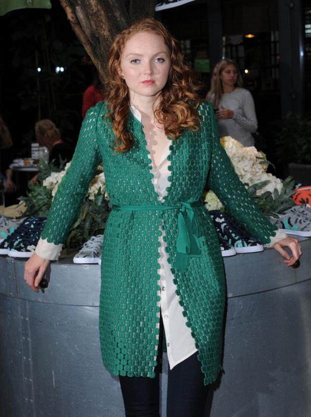 Lily Cole attends the launch of her limited-edition Veja footwear collection(Photo by Stuart C. Wilson/Getty Images)