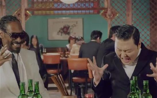 Psy and Snoop Dogg team up for 'Hangover'