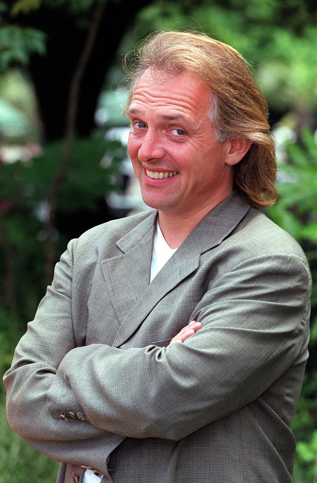 Rik Mayall who died this morning. Photo: Matthew Fearn/PA Wire