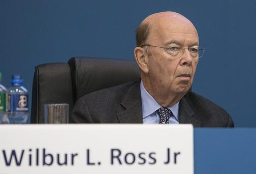 Billionaire Wilbur Ross. Picture credit Mark Condren