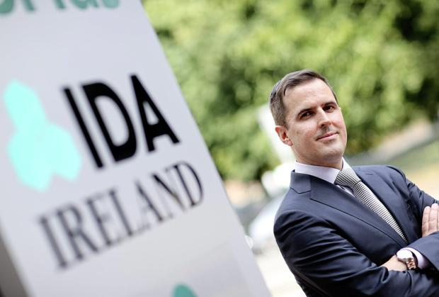 IDA Ireland Announces Appointment of new CEO Martin Shanahan. Picture credit: MAXWELLS