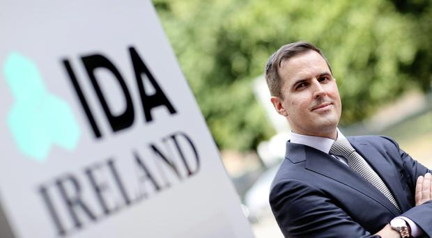 IDA Ireland's new CEO Martin Shanahan. Picture credit: MAXWELLS