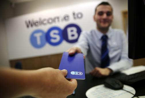 Lloyds Banking Group has priced the stock market listing of its TSB business at below book value. Photographer: Matthew Lloyd/Bloomberg