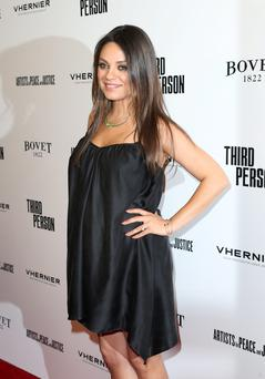 "Actress Mila Kunis attends the premiere of Sony Picture Classics' ""Third Person"" at Linwood Dunn Theater at the Pickford Center for Motion Study on June 9, 2014 in Hollywood, California. (Photo by Frederick M. Brown/Getty Images)"