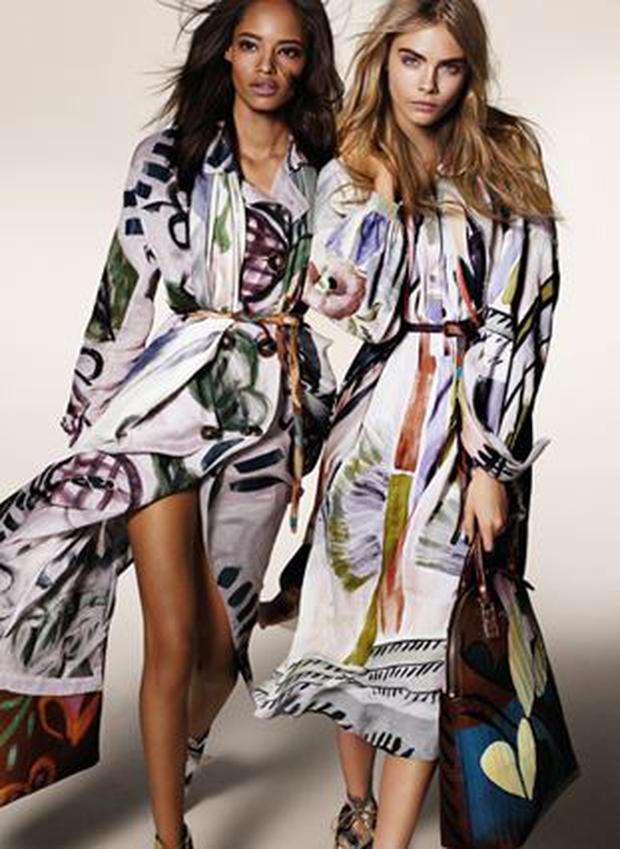 The pretty young faces of Burberry\'s new Bloomsbury-inspired ...