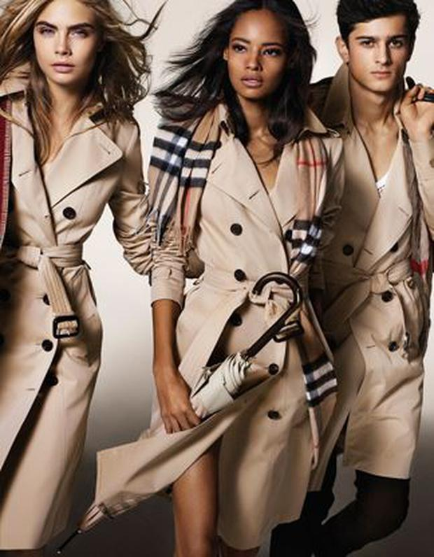 Malaika Firth, who starred in Burberry's Spring/Summer 14 campaign too joins Cara Delevingne and male models Callum Ball, Tarun Nijjer and Oli Green for the shoot.