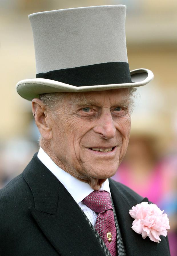 File photo dated 21/05/14 of the Duke of Edinburgh who celebrates his 93rd birthday today. PRESS ASSOCIATION Photo. Issue date: Tuesday June 10, 2014. See PA story ROYAL Philip. Photo credit should read: Anthony Devlin/PA Wire
