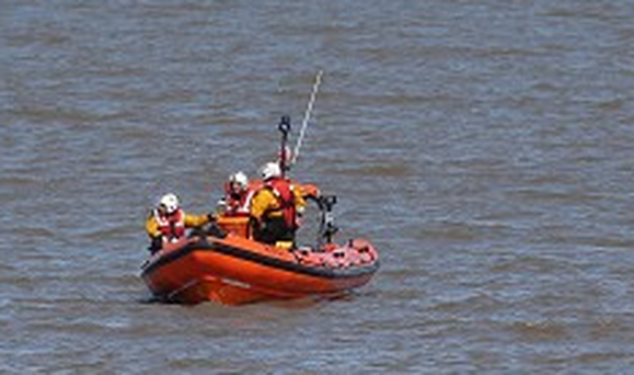 Limerick Marine Search and Rescue Service deployed a helicopter to assist in the garda co-ordinated search.