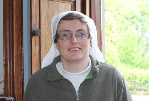 Sr Liz Deasy is a new nun at St Mary's Abbey Glencairn