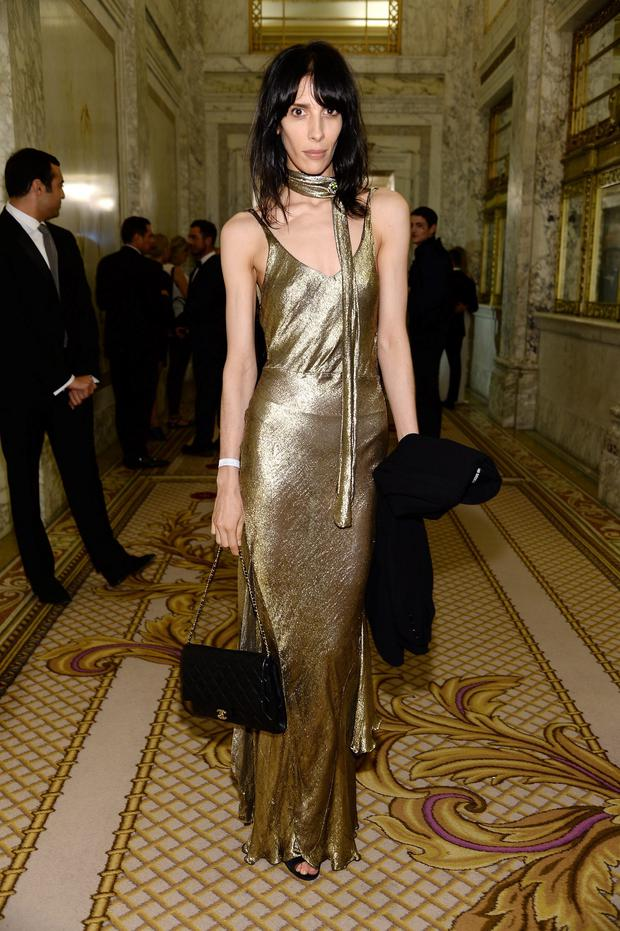 Jamie Bochert attends the amfAR Inspiration Gala New York 2014 at The Plaza Hotel on June 10, 2014 in New York City. (Photo by Dimitrios Kambouris/Getty Images)