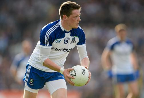 Conor McManus is unlikely to be fit to for Monaghan's clash with Tyrone on Sunday