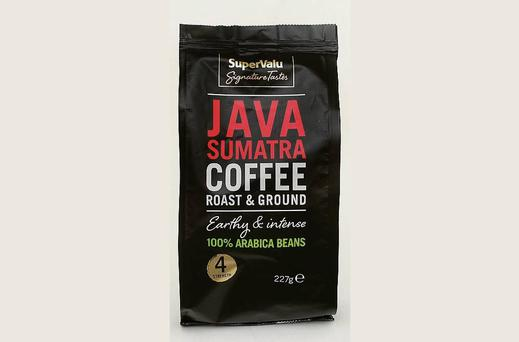 Supervalu Java Sumatra Coffee 227g