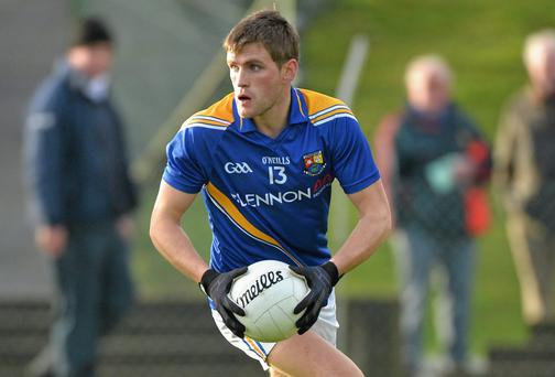 Paul McKeon in action for Longford