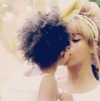 Beyonce and Jay Z's daughter Blue Ivy