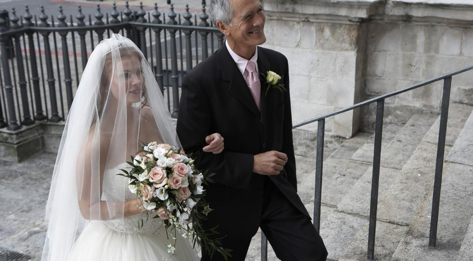 Louise McSharry will finally get to wear a veil. Photo: Getty Images.