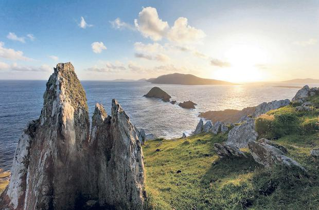 The Dingle peninsula is Ireland's most westerly point