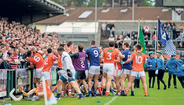 Cavan have accepted the penalties handed down by the GAA following the pre-match brawl