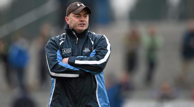 Dublin's inconsistent league form must be of serious concern for manager Anthony Daly and his fellow strategists. Photo: Stephen McCarthy / SPORTSFILE