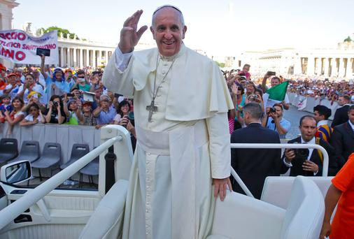 Pope Francis has said he wants to engage with people and has refused to travel in the bulletproof Popemobile