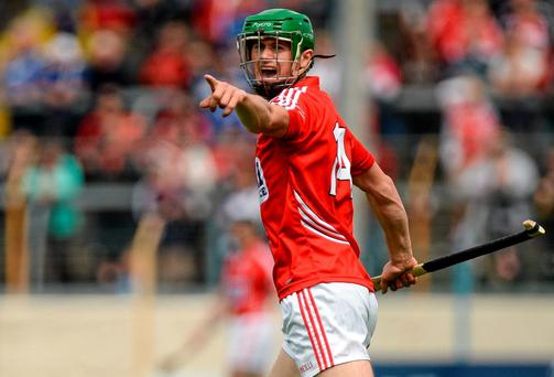 Cork's Seamus Harnedy made his contribution to a convincing Cork performance against Waterford last Sunday. Photo: Piaras O Midheach / SPORTSFILE
