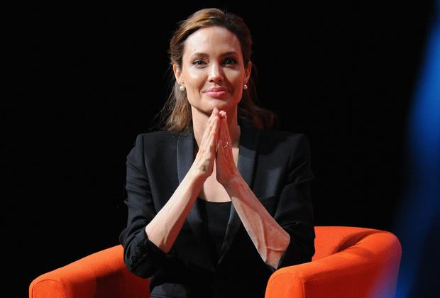 Hollywood actress Angelina Jolie has been made an honorary dame for her campaigning work against sexual violence