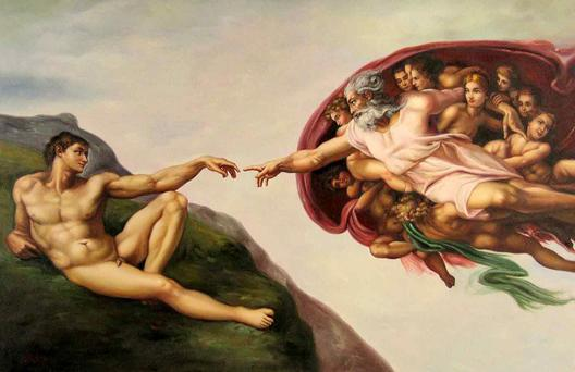 Creation of Adam.
