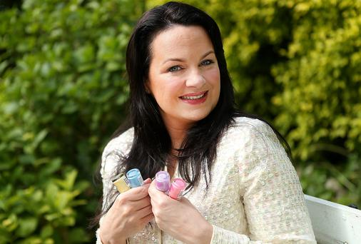 Triona McCarthy says you can save a small fortune by doing your nails at home. Photo: Gerry Mooney.
