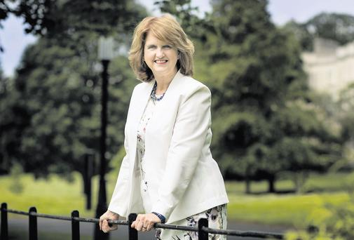 FAMILY: Minister for Social Protection Joan Burton