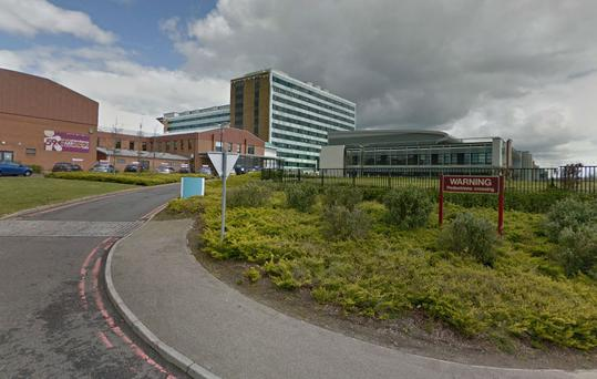 Altnagelvin hospital. Photo: Google Streetview