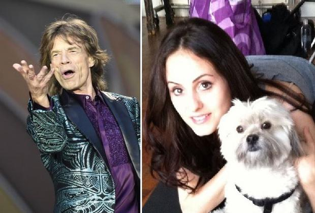 Melanie Hamrick, 27, was photographed outside the hotel with Sir Mick, 70, in Zurich where the Rolling Stones were performing, ten days ago.