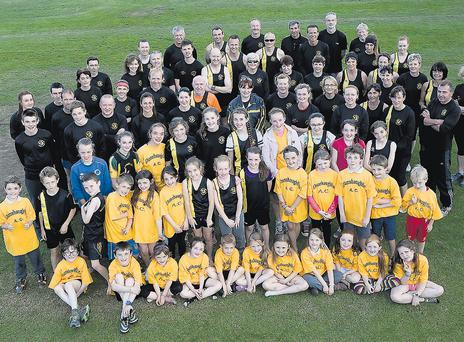 Some of Dunshaughlin AC's 200 members photographed last week. DES O'NEILL