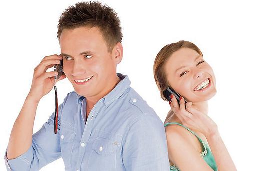 Vital: communication (Picture posed)