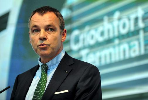 Aer Lingus chief executive Christoph Mueller issued a protest letter over the report