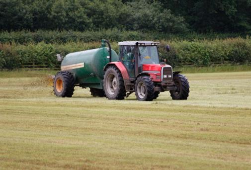 The damage was apparently caused by a spillage of slurry