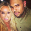 The selfie of Tiffany and Chris Brown