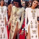 Kendall Jenner was clearly keen to be the centre of attention in this risque ensemble at the 2014 Much Music Awards