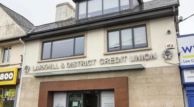 Larkhill and District credit union on the Swords road, Dublin. Photo: Mark Condren